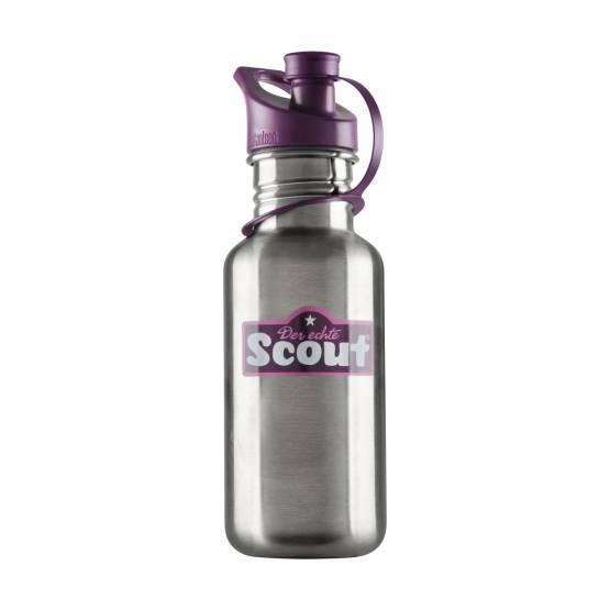 Scout Edelstahl Trinkflasche violett Lila Mädchen 25550699900