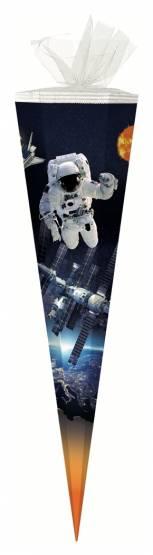 Schultüte Zuckertüte 85 cm eckig Weltraum
