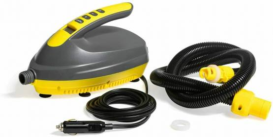 Stand Up Paddle Board Pumpe 12V Elektrisch HR Ventil Boot Elektropumpe Bestway
