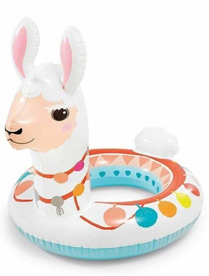 Schwimmring Schwimmhilfe Kinder Schwimmreifen Einhorn Ringtier aufblasbar Intex Lama✅