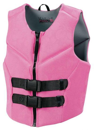 Marinepool Damen Neoprenweste Schwimmweste Prallschutz Kajakweste Stand Up Bootsweste 50N 50-70 kg