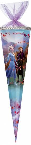 Nestler Schultüte Frozen Anna und Elsa 85 cm Zuckertüte 12 eckig