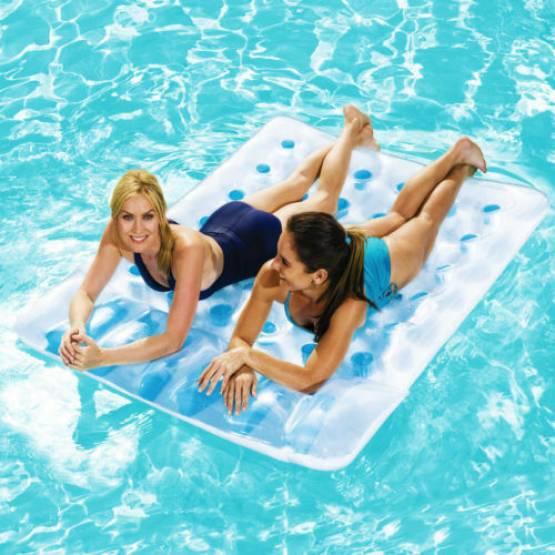 Bestway Pool Luftmatratze Wasserluftmatratze 2 Personen Lounge Schwimminsel