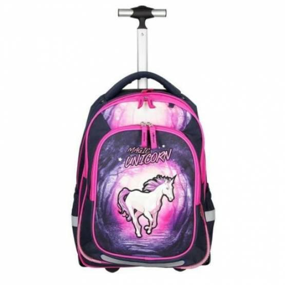 Spirit Schultrolley Rucksack Magic Unicorn