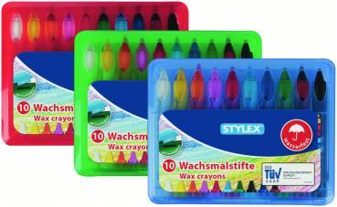 Wachsmalstifte Stifte Wachsmaler Stylex