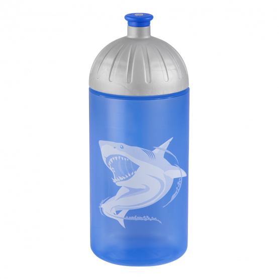 Step by Step Trinkflasche Lunchbox Brotdose Brotbüchse Angry Shark Set