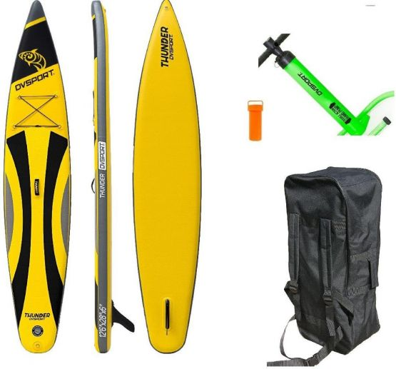 DVSPORT Inflatable SUP-Board Stand-up-Paddleset Thunder Kid 10.6