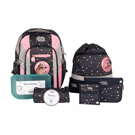 School Mood Loop Air+ Ella Pferd  7-teiliges Set Schulrucksack Modell 2021