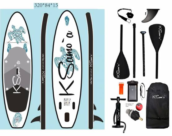 Stand Up, SUP, KSamo`a, PREMIUM, SET, 320 Paddle Board, Surf, ISUP, Paddling, Ksamoa, Whiterider