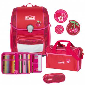 Scout Genius Cherry Red Schulranzen- 4 teilig Kollektion 2019/2020