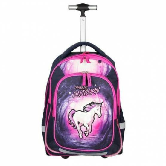 Spirit Schultrolley Rucksack Magic Unicorn